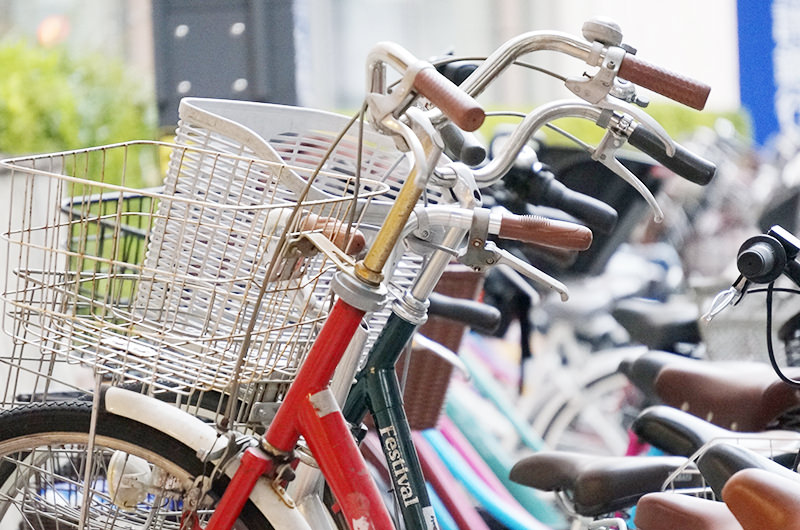 近年、自転車による交通事故が増えています